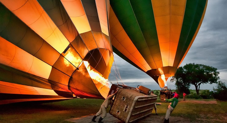 Hot Air Balloons - Balloon Safaris